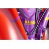 """s'cool pedeX Dirt loopfiets Kinderen 14"""" rood/violet"""